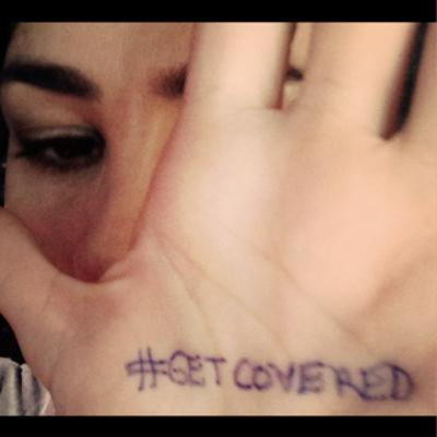 Sarah Silverman #getcovered