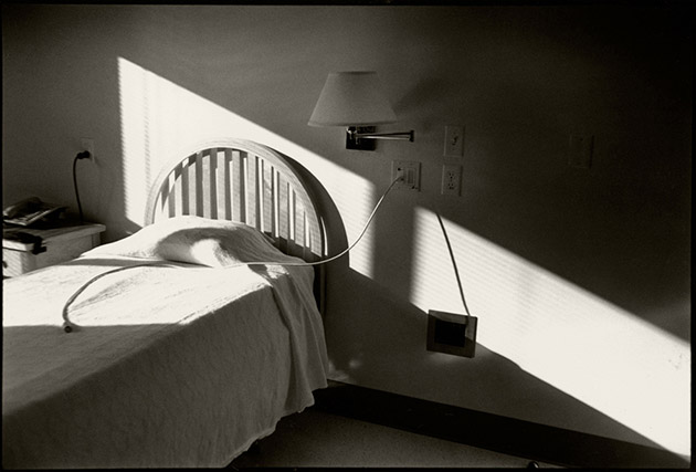 A resident's room the day of this death from AIDS at the Bailey-Boushay House.