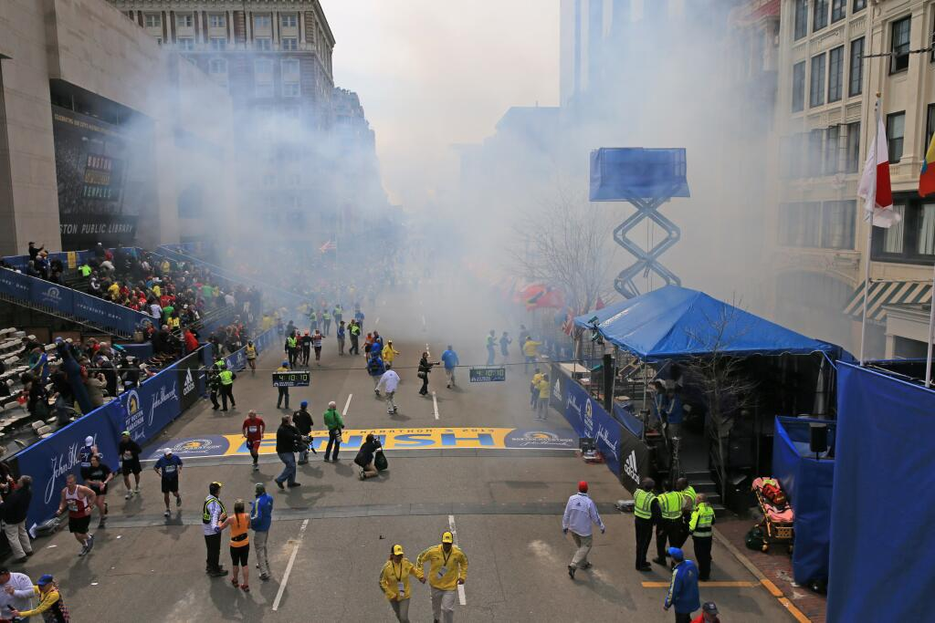 What We Know About The Boston Marathon Explosions