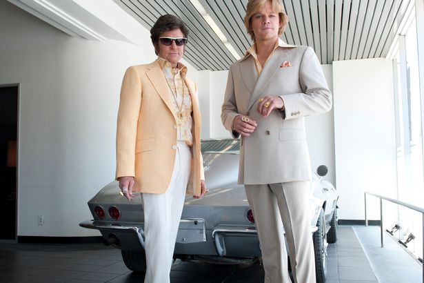Behind the Candelabra Matt Damon Michael Douglas