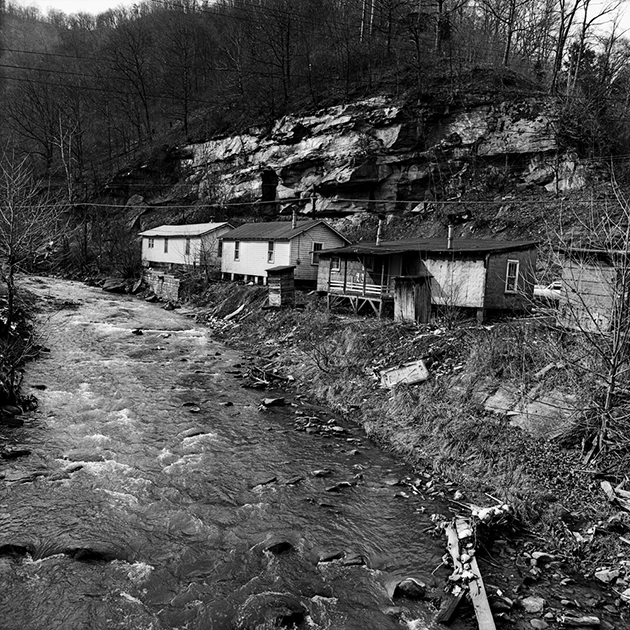 Hillside house, Pikeville, Kentucky, 1974