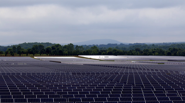 Inside the huge solar farm that powers the iCloud