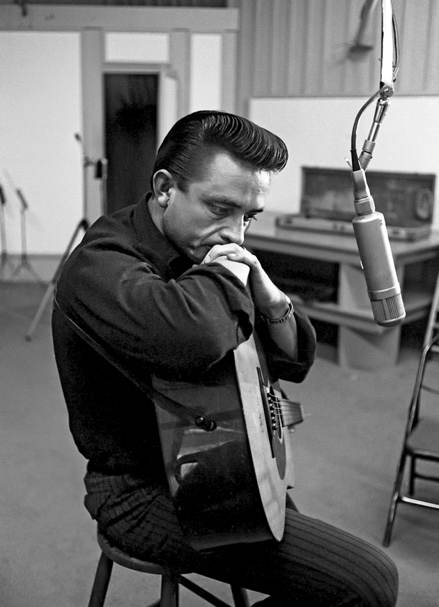 Johnny Cash ponders his first concept album, Ride This Train, October 1959.