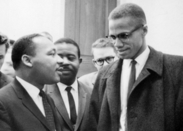 MLK Jr and Malcolm X