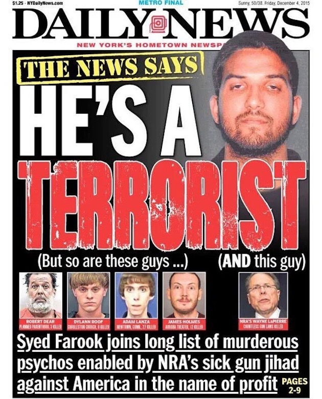 New York Daily News: The New York Daily News Just Doubled Down On Its Attack On