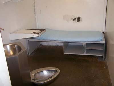 An empty cell at the Polunsky Unit.