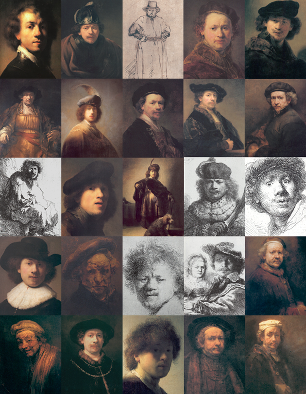 In Defense Of Selfies: Rembrandt