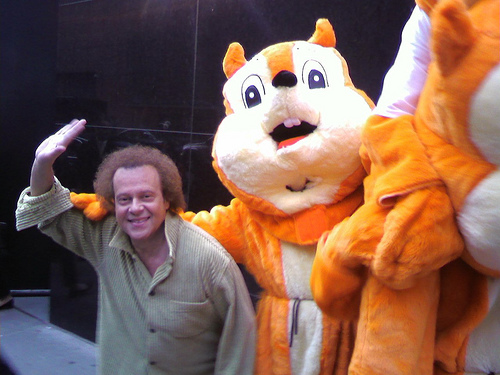Richard Simmons and the RNC Squirrel