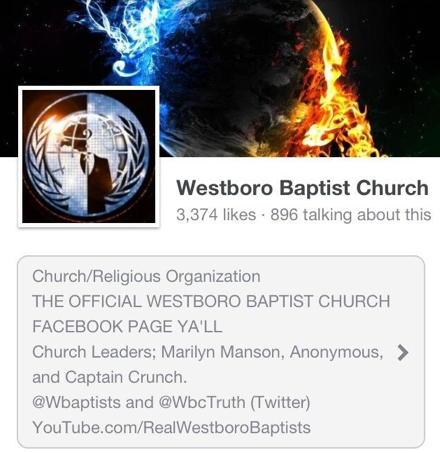 westboro baptist church anonymous hacking boston marathon