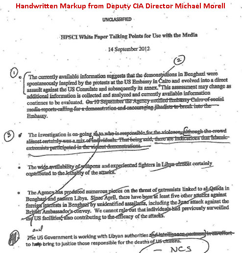 benghazi incident Jihadists twice set off explosives at the consulate prior to the incident that killed ambassador chris stevens, according to a letter obtained by eli lake.