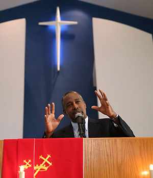 Dr  Ben Carson had many obstacles     No father at home     Poor