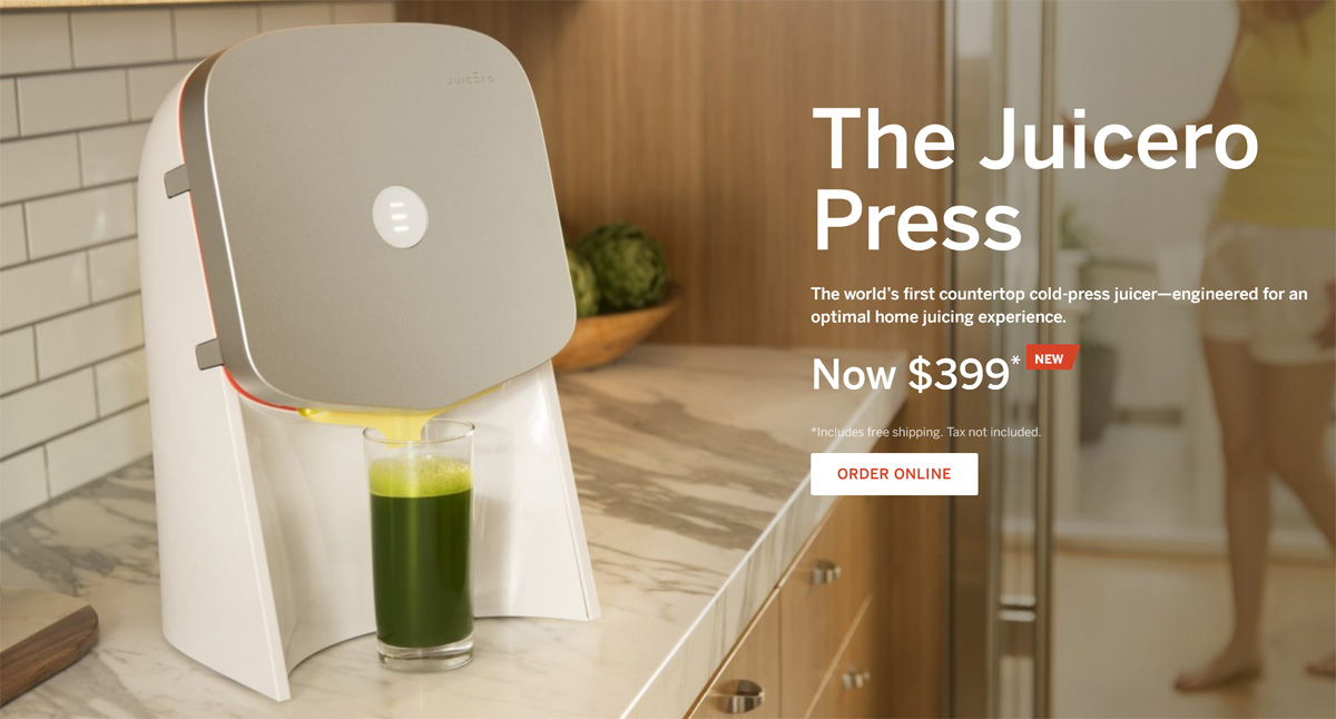 Fancy Silicon Valley Juicer Outperformed by Human Hands