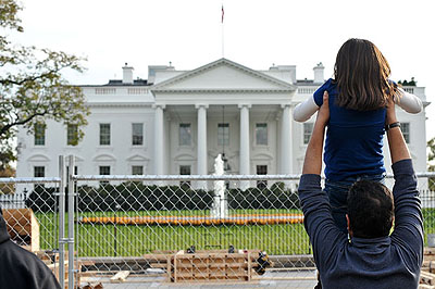 First White House Fence Jumper The White House Fence And