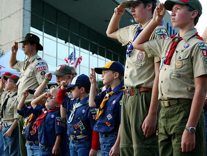 Boy Scouts of America Proposes Dropping Ban on Gay Members-But Not Gay Adults