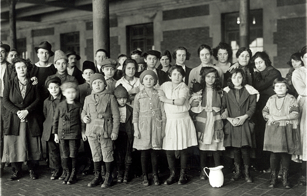 It's hard to say exactly how many of Ellis Island's child migrants were unaccompanied, but Moreno says they were in the thousands.