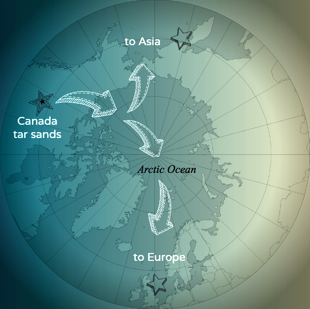 Canada Considers Shipping Tar Sands Oil Across Arctic Ocean