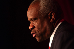"Clarence Thomas ""Outraged"" by Treatment of His Nephew 