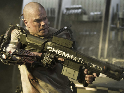 """Elysium"": Matt Damon Shoots His Way to Universal Health Care 