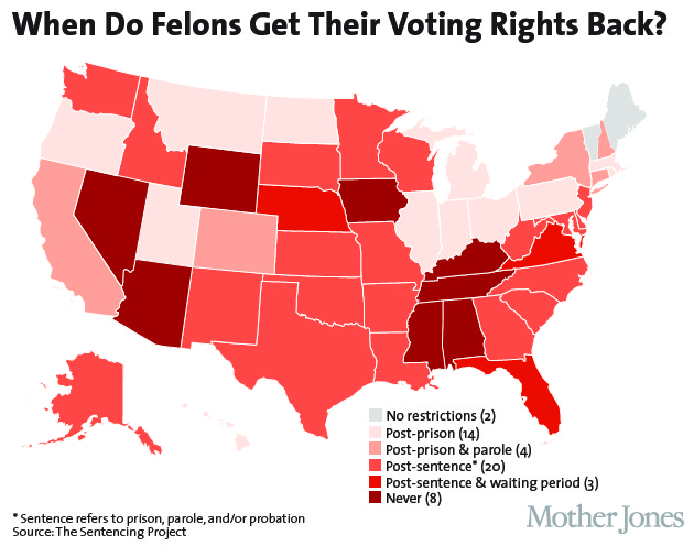 "should a covicted felon have the right to vote essay Womans vote essay custom student mr "" some credit has been given to the suffragettes as having persuaded men of their right to vote with their willingness to die."