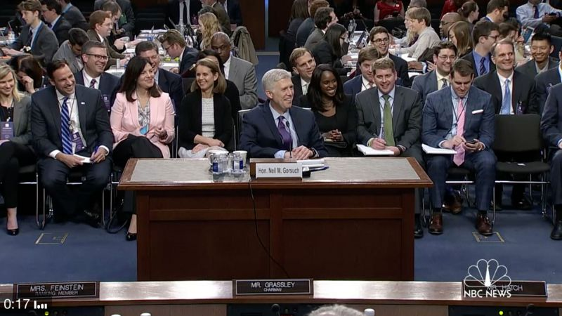 A Senator Just Asked Trump's Supreme Court Nominee A Question That Is Going To Make The Internet Explode