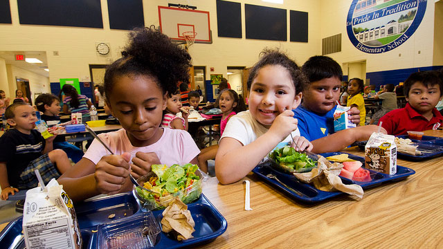 Make Your School Cafeteria Healthy