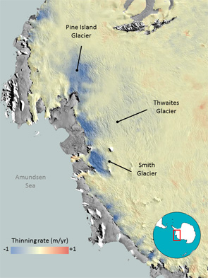 ice loss in Antarctica