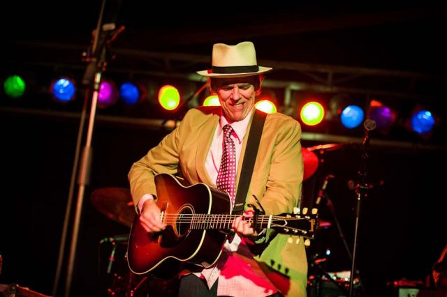 John Hiatt performs at the Cannery Ballroom. The 13th Americana Music Festival and Conference, September 12-15, 2012, Nashville, TN.