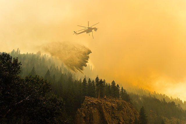 High Park Wildfire, Colorado: The National Guard via Flickr