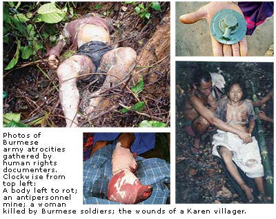 Burmese Army Atrocities