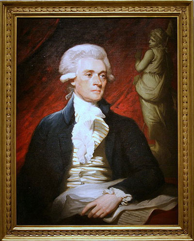 Thomas Jefferson: Wikimedia Commons