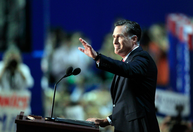 With the Republican convention in Tampa, Mitt Romney has launched the most ...