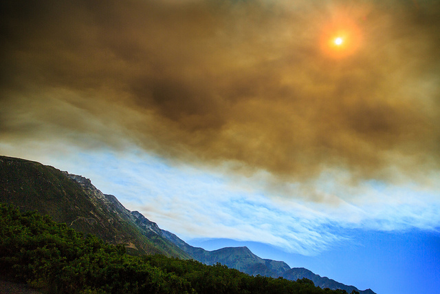 Wildfire smoke Dan Pearce via Flickr