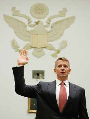 In his recent Capitol Hill appearance, Erik Prince played down his foreign recruiting.