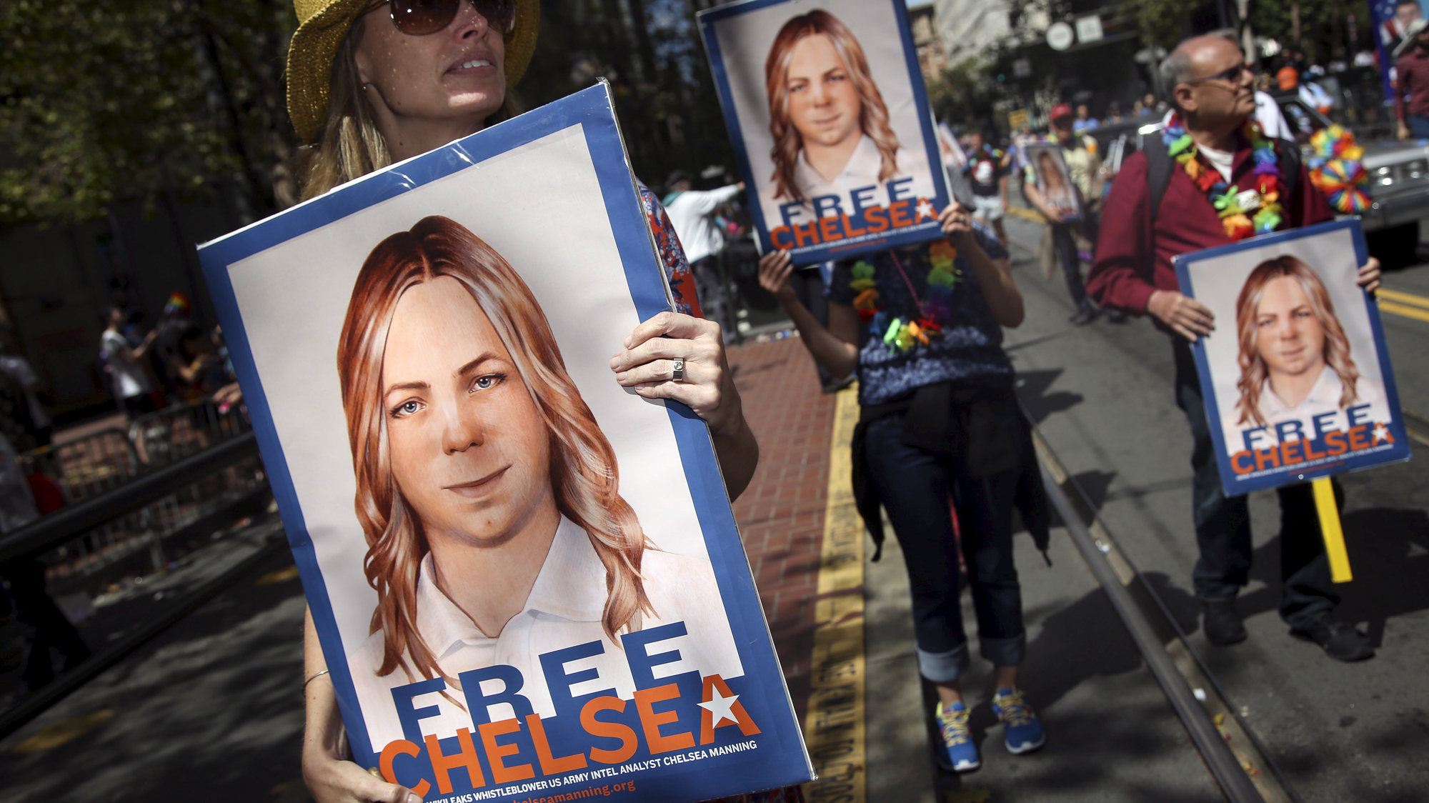 Who is Chelsea Manning? - in pictures