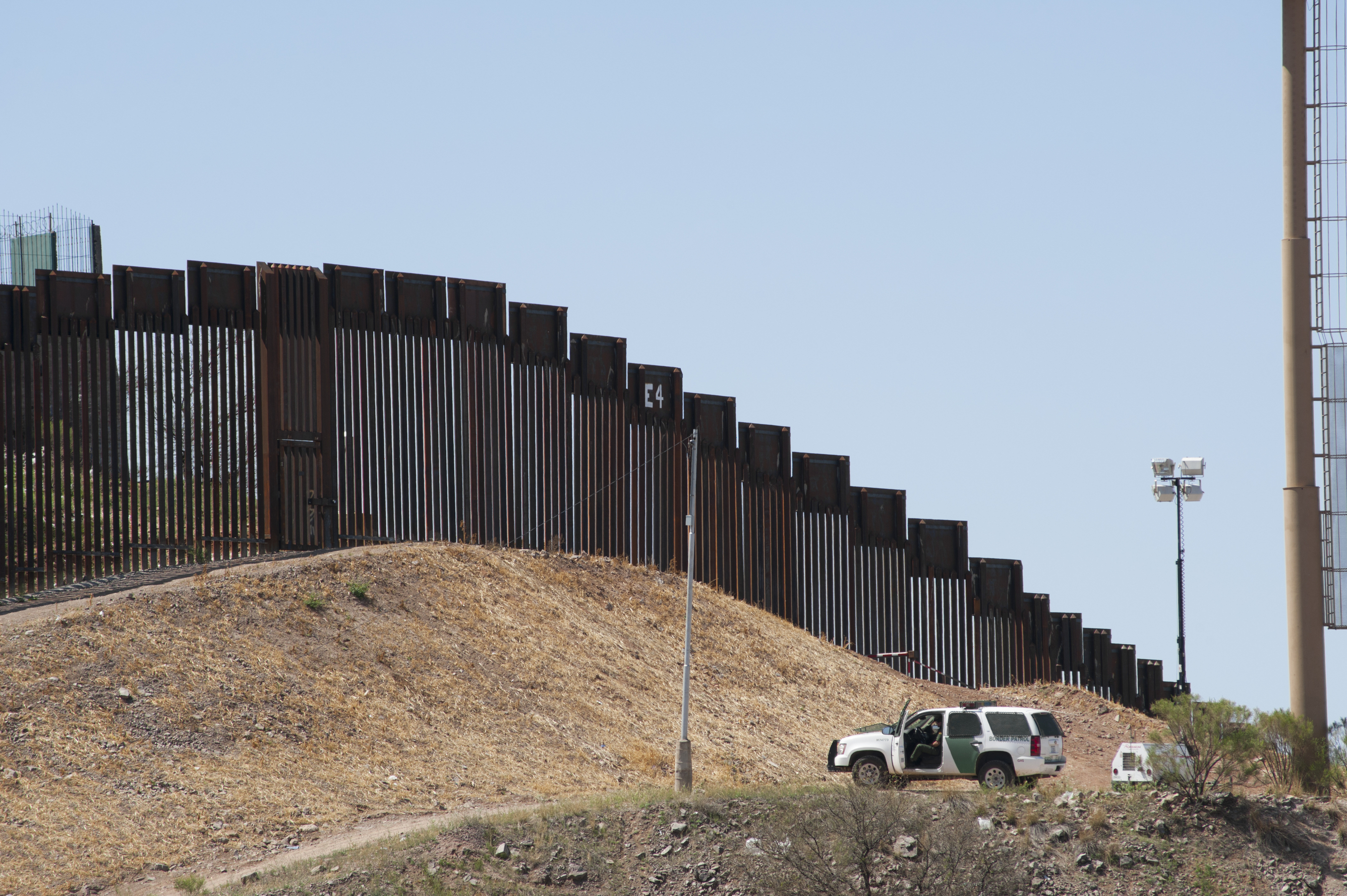 Basically, Donald Trump's Border Wall Already Exists | Mother Jones