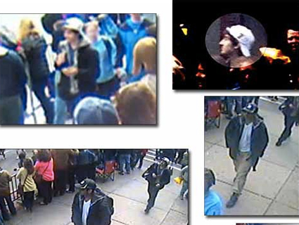 Here Are Photos and Video of the Boston Marathon Bombing Suspects