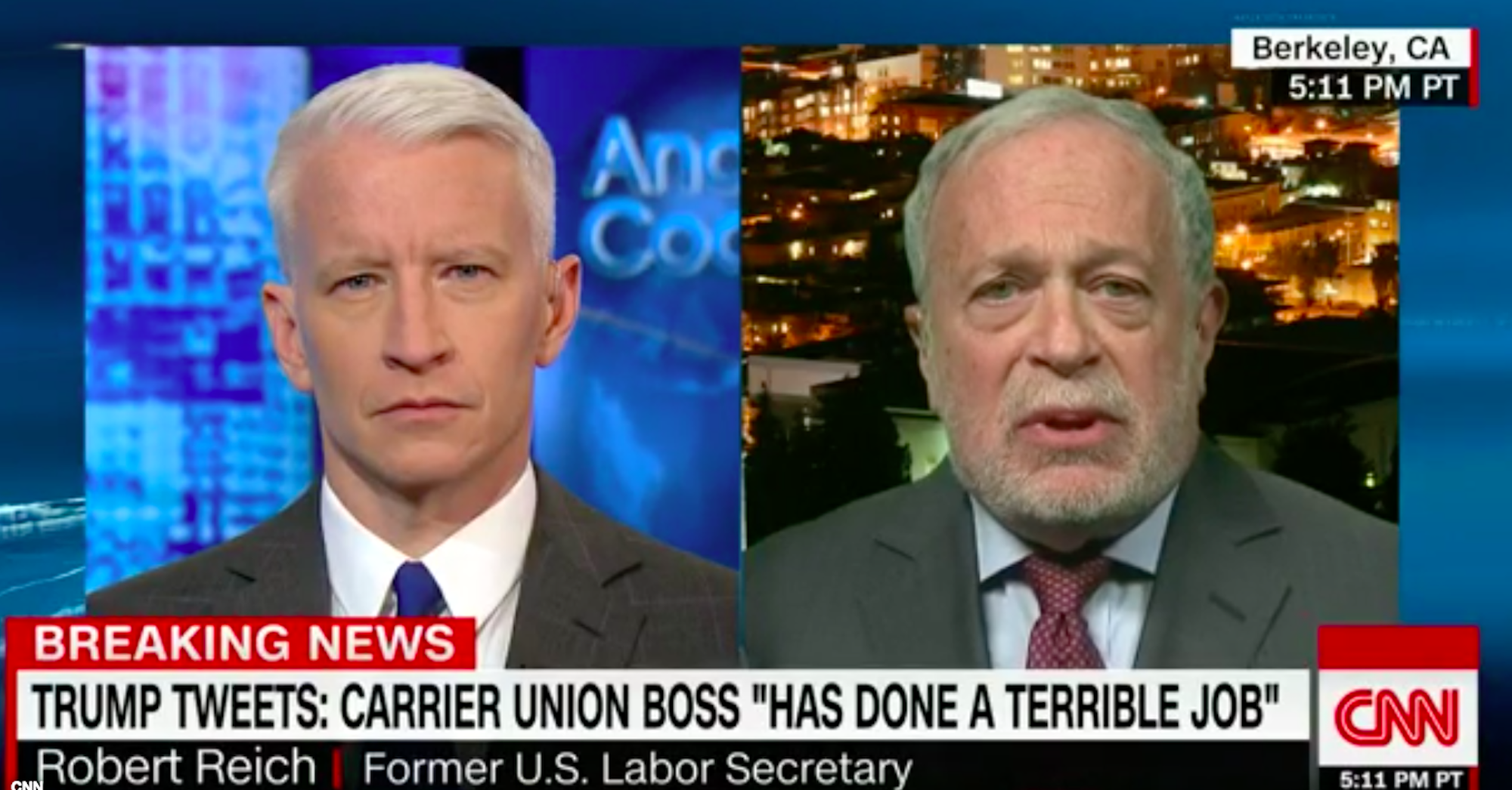 Robert Reich Calls Out Donald Trump for His