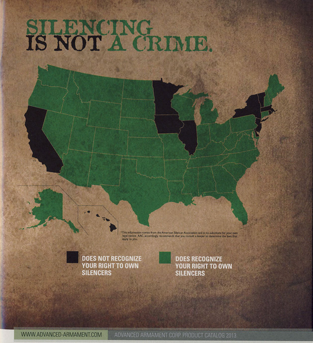Silencing is not a crime ad