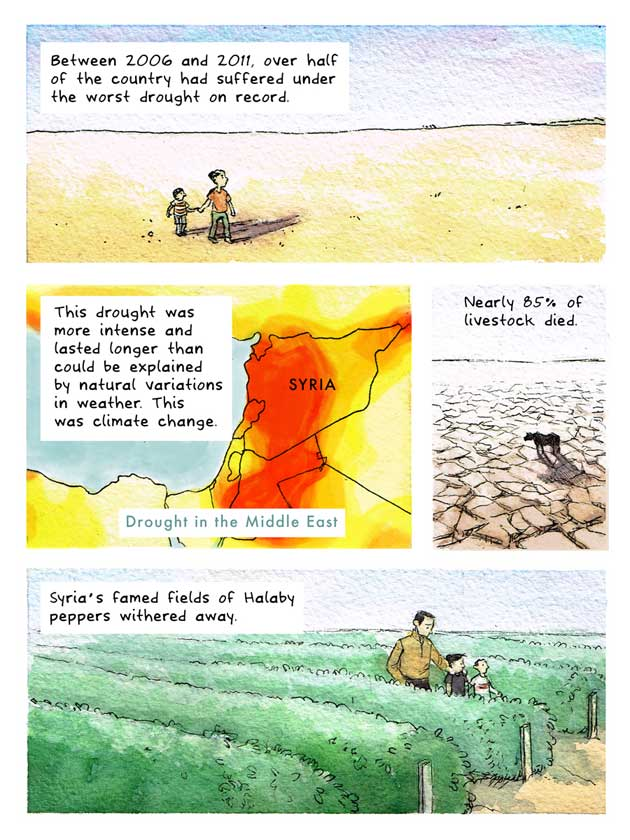 A Storm Without Rain: Yemen, Water, Climate Change, and Conflict