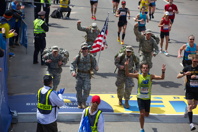 tough ruck finish line boston marathon
