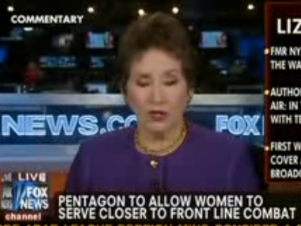 Fox Pundit: Women in Military Should