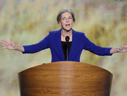 Elizabeth Warren to Obama Administration: Take the Banks to Court, Already!