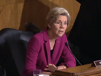VIDEO: Elizabeth Warren Grills Treasury Secretary On Too Big To Fail