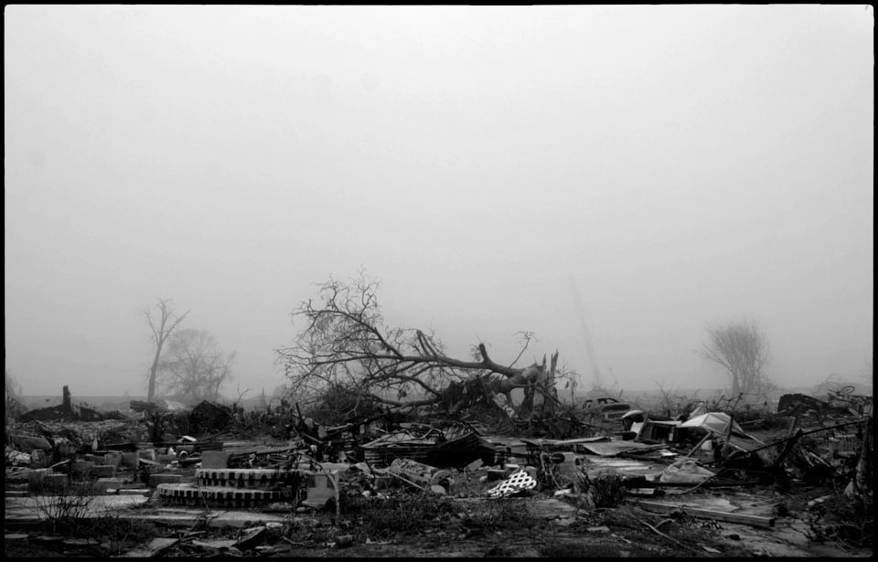 lower 9th ward after hurricane katrina