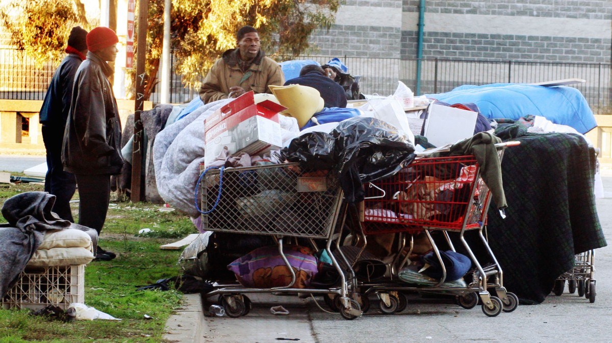 Instead of trashing homeless camps, this city is providing them with services