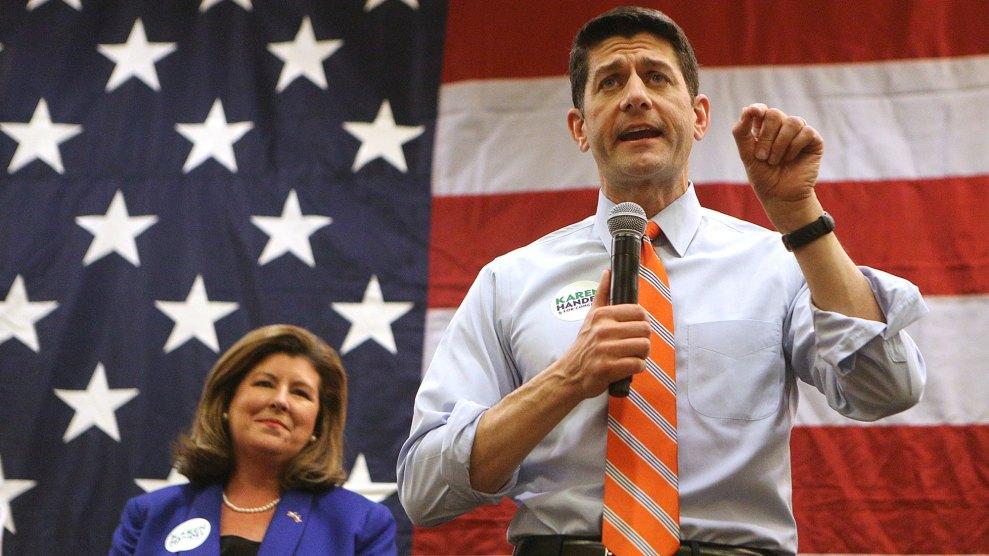 Karen Handel and Paul Ryan