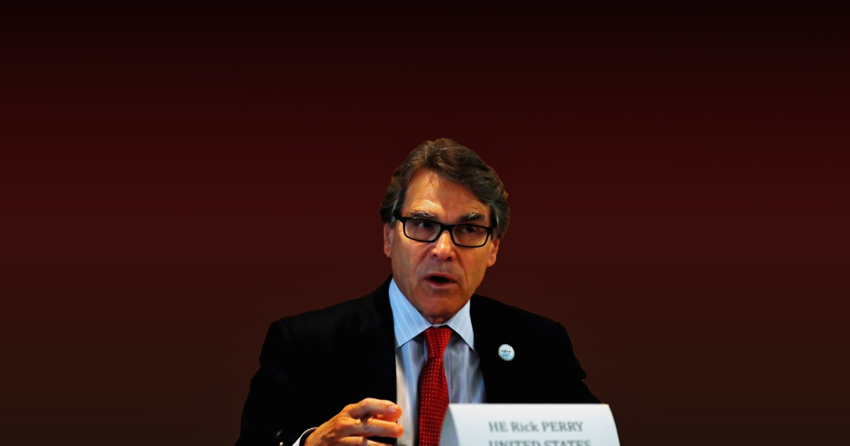 Rick Perry Is in Charge of Nuclear Safety—Too Bad He Doesn't Understand Science