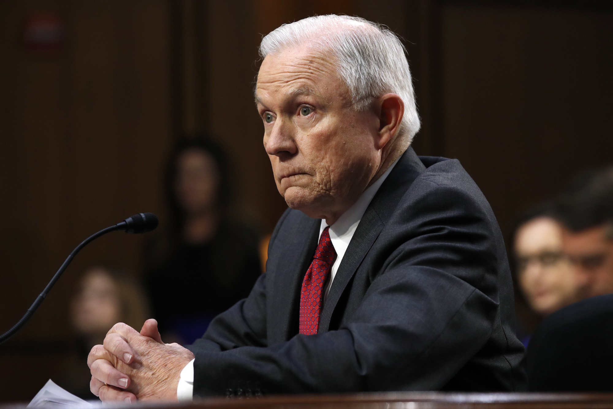 Top 8 lines from Jeff Sessions' hearing
