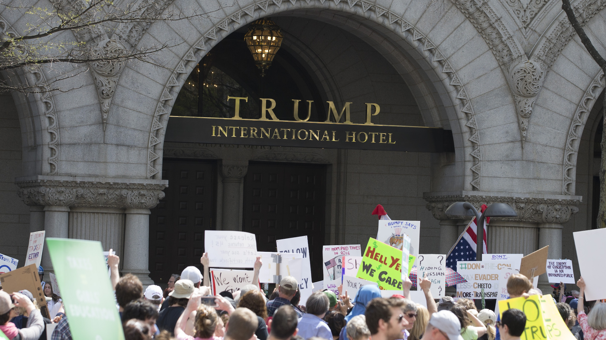 DC And Maryland Hit Trump With Lawsuit Over His Business Ties