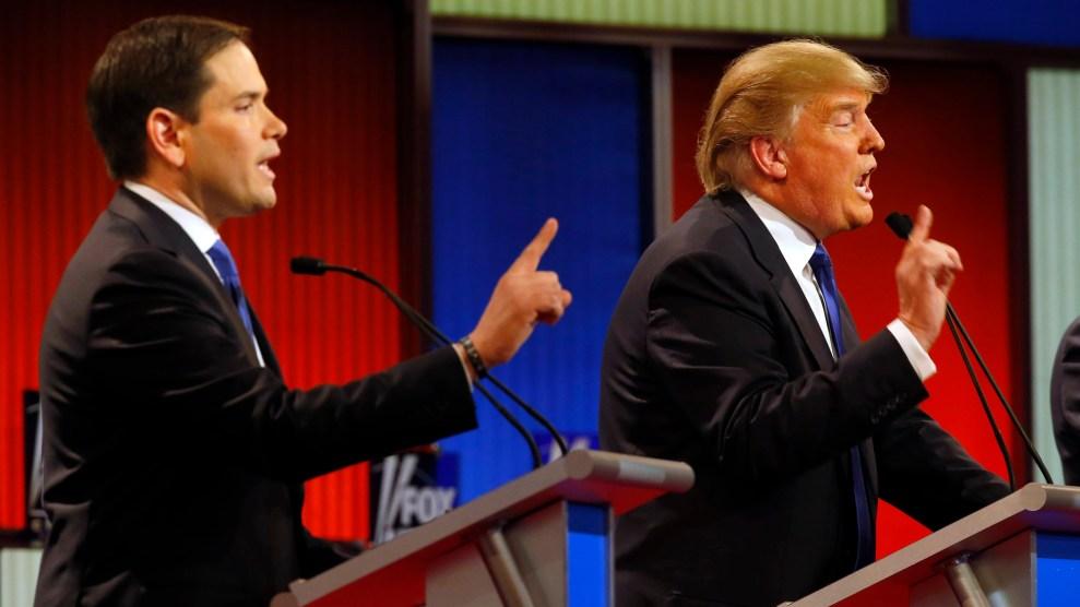 Trump and Rubio